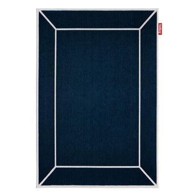 tapis d exterieur carpretty frame bleu esprit tendance