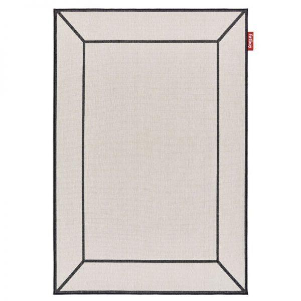 tapis exterieur carpretty grand frame off white